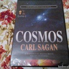 Cine: COSMOS - CARL SAGAN - ENCICLOPEDIA GALÁCTICA - DVD - ¡¡¡NUEVO Y PRECINTADO!!!. Lote 104917679