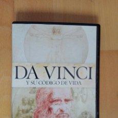 Cine: DVD LEONARDO DA VINCI Y SU CODIGO DE VIDA EL GENIO Y SU TIEMPO DOCUMENTAL CANAL HISTORIA. Lote 105010575