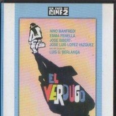 Cine: EL VERDUGO. DVD-3493. Lote 105016699