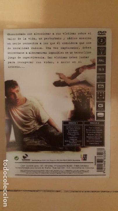 Cine: Saw Edicion especial limitada 2 DVD - Foto 3 - 105017111
