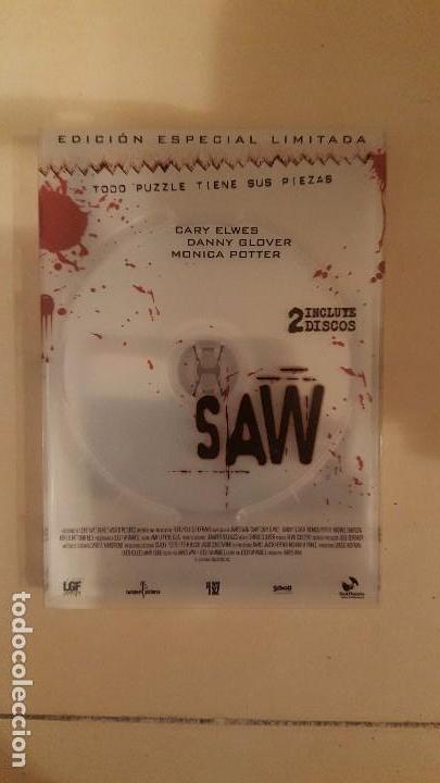 SAW EDICION ESPECIAL LIMITADA 2 DVD (Cine - Películas - DVD)