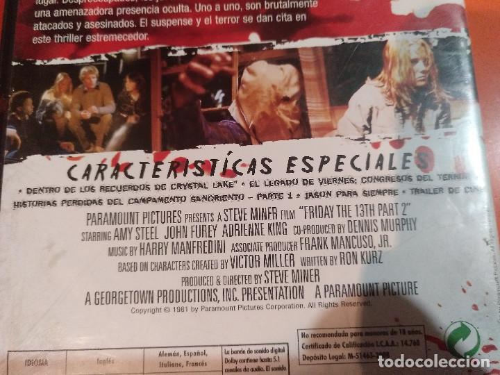 Dvd Viernes 13 Parte 2 Edicion Especial Con E Comprar Películas