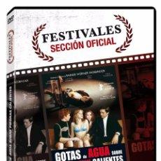 Cine: NUEVA / GOTAS DE AGUA SOBRE PIEDRAS CALIENTES - RW FASSBINDER. Lote 117218646