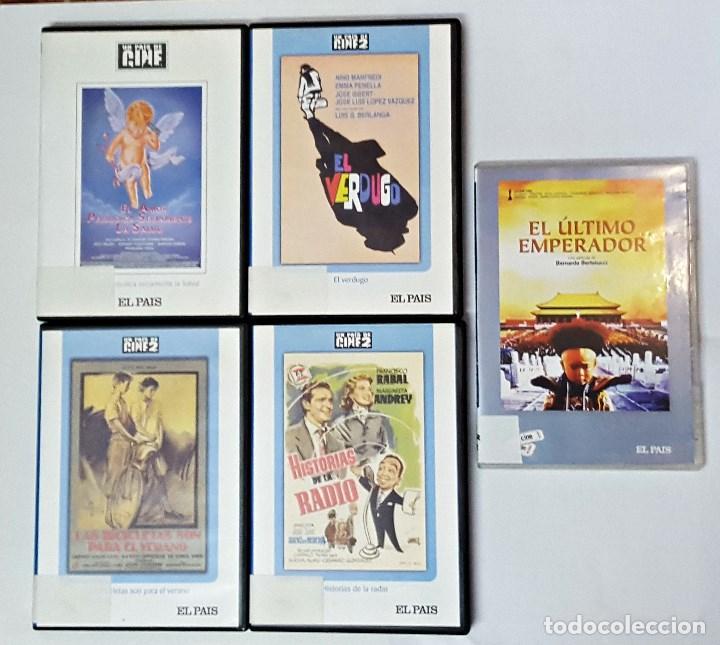 LOTE DE 5 DVD DEL EL PAIS. (Cine - Películas - DVD)