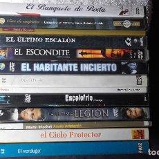 Cine: 13 DVD PELICULAS VERDUGO OPERA PRIMA EL CIELO PRTECTOR MARTIN HACHE. Lote 105600903