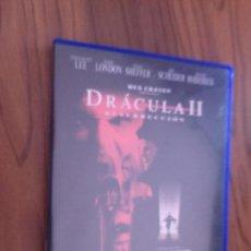 Cine: DRACULA II. RESURRECCION. WES CRAVEN. DVD EN BUEN ESTADO. TERROR. Lote 105610087