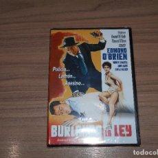 Cine: BURLANDO LA LEY DVD EDMOND O'BRIEN NUEVA PRECINTADA. Lote 262418250
