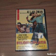 Cine: FILON DE PLATA EDICION ESPECIAL DVD + LIBRO JOHN PAYNE LIZABETH SCOTT DAN DURYEA NUEVA PRECINTADA. Lote 183994327
