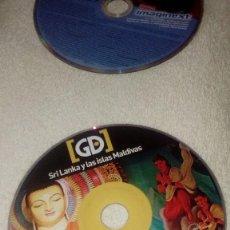 Cine: CAJ-101217 SOLO DVD SIN CARATULA SRI LANKA Y LAS ISLAS MALDIVAS . Lote 109313184