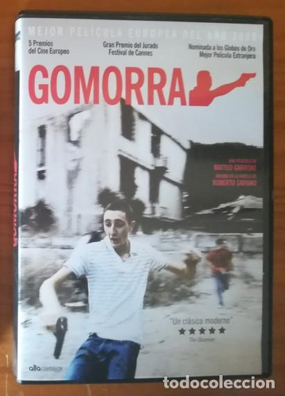 GOMORRA -DVD- MATTEO GARRONA, ROBERTO SAVIANO, TONI SERVILLO... (Cine - Películas - DVD)
