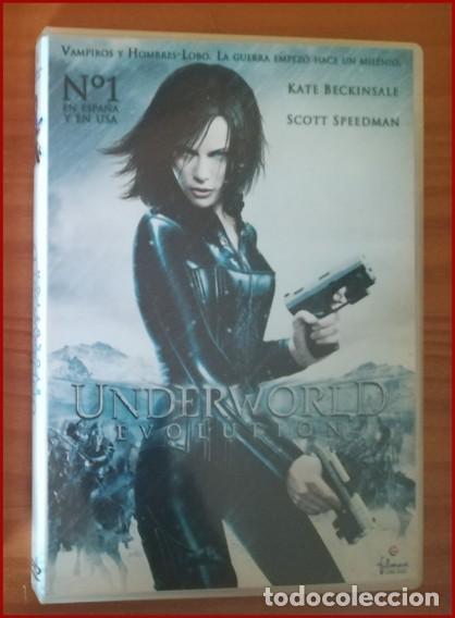 UNDERWORLD EVOLUTION -DVD- KATE BECKINSALE, SCOTT SPEEDMAN, LEN WISEMAN... (Cine - Películas - DVD)
