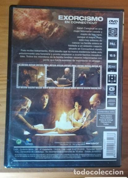 Cine: EXORCISMO EN CONNECTICUT -DVD- PETER CORNWELL, VIRGINIA MADSEN, KYLE GALLNER... TERROR - Foto 2 - 105712907