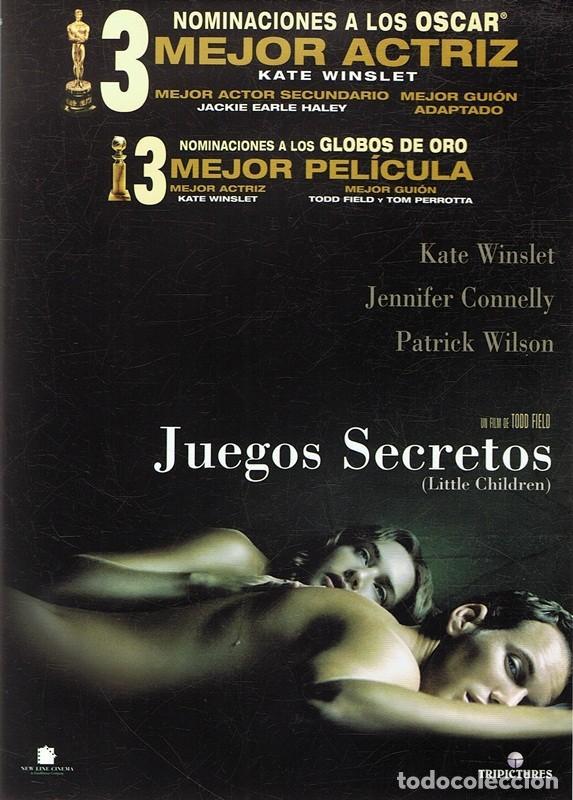 Dvd Juegos Secretos Kate Winslet Comprar Peliculas En Dvd En