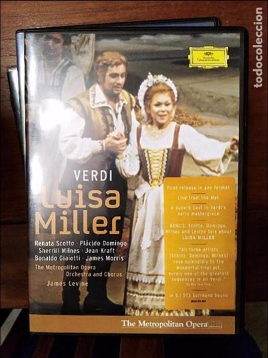 VERDI LUISA MILLER DVD (Cine - Películas - DVD)