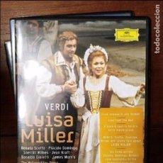 Cine: VERDI LUISA MILLER DVD . Lote 105860515