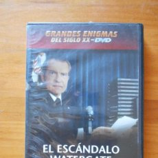 Cine: DVD EL ESCANDALO WATERGATE - GRANDES ENIGMAS DEL SIGLO XX (5X). Lote 105876567