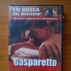 Cine: DVD GASPARETTO - EN BUSCA DEL MISTERIO 13 - F. JIMENEZ DEL OSO, JUAN JOSE BENITEZ (5X). Lote 105876659