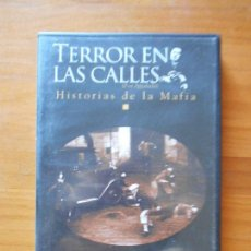 Cine: DVD TERROR EN LAS CALLES - HISTORIAS DE LA MAFIA EPISODIO 6 - COSA NOSTRA - RUGGERO MITI (5Y). Lote 105876887