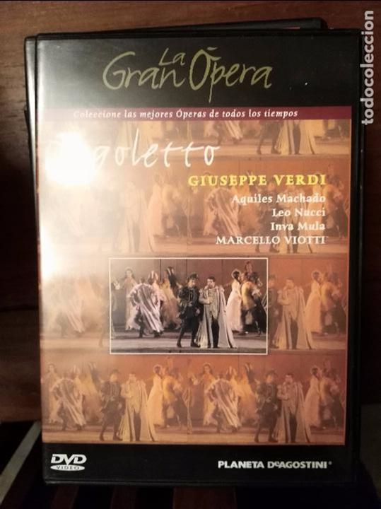 VERDI RIGOLETTO DVD (Cine - Películas - DVD)