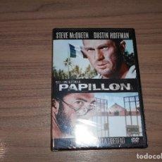 Cine: PAPILLON DVD STEVE MCQUEEN DUSTIN HOFFMAN NUEVA PRECINTADA. Lote 105890591