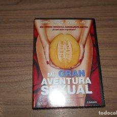 Cine: MI GRAN AVENTURA SEXUAL DVD CINE EROTICO NUEVA PRECINTADA. Lote 126244932