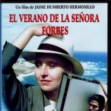 Cine: EL VERANO DE LA SEÑORA FORBES (HANNA SCHYGULLA)- ...BASADA EN UN RELATO DE GARCÍA MARQUEZ. Lote 105890867