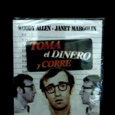 Cine: TOMA EL DINERO Y CORRE.WOODY ALLEN.JANET MARGOLIN.CREATIVE FILMS.PRECINTADA.1969. Lote 105901879