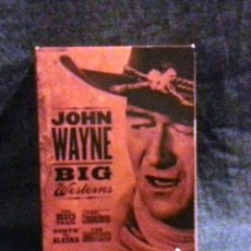 Cine: JOHN WAYNE. COLECCION BIG WESTERNS. 4 DVD. Lote 105948635