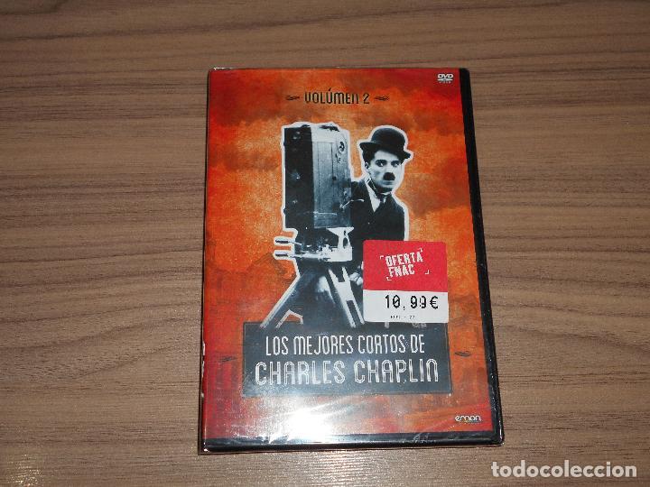 LOS MEJORES CORTOS DE CHARLES CHAPLIN VOL. 2 DVD NUEVA PRECINTADA (Cine - Películas - DVD)