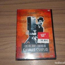 Cine: LOS MEJORES CORTOS DE CHARLES CHAPLIN VOL. 2 DVD NUEVA PRECINTADA. Lote 176379952
