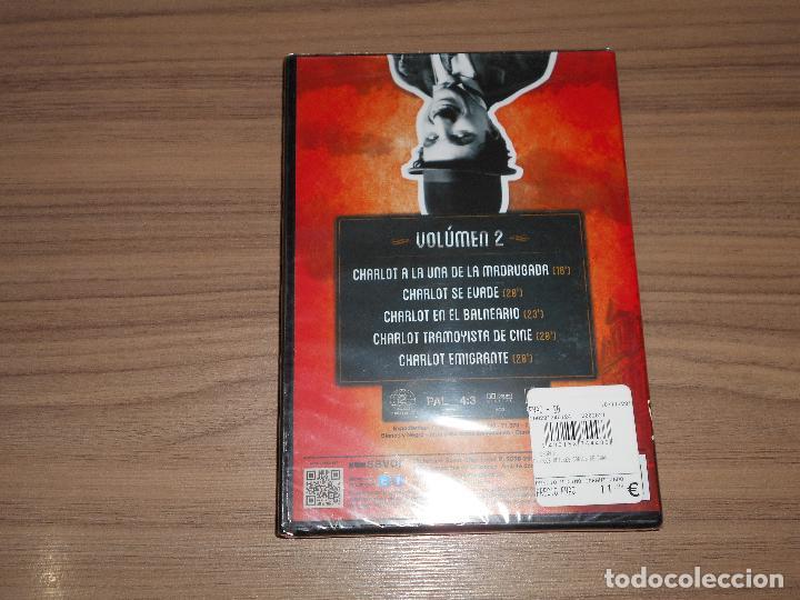 Cine: Los Mejores CORTOS de CHARLES CHAPLIN Vol. 2 DVD Nueva PRECINTADA - Foto 2 - 176379952