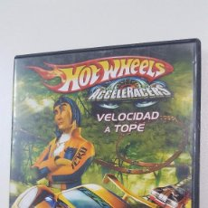 Cine: HOT WHEELS . ACCELERACERS . VELOCIDAD A TOPE. Lote 105981759