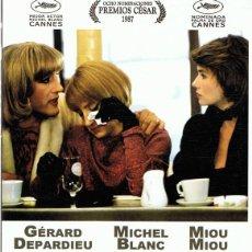 Cine: DVD TRAJE DE ETIQUETA GÉRARD DEPARDIEU. Lote 135698473