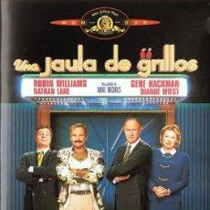 Cine: DVD UNA JAULA DE GRILLOS ROBIN WILLIAMS . Lote 106155507