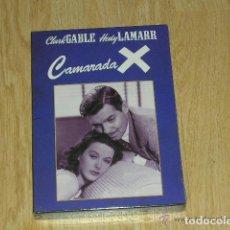 Cine: CAMARADA X DVD CLARK GABLE HEDY LAMARR NUEVA PRECINTADA. Lote 110259919