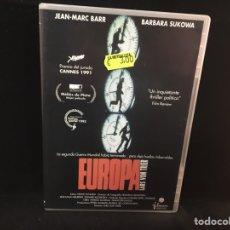 Cine: EUROPA - DVD LARS VON TRIER. Lote 106559582