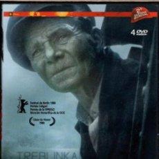 Cine: SHOAH ( 4.DVD = 542 MIN.-CLAUDE LANZMANN) - EL DIRECTOR EMPLEÓ 11 AÑOS PARA RECOGER LOS TESTIMONIOS.. Lote 118932122