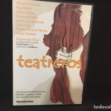 Cine: TEATREROS - DVD DOCUMENTAL. Lote 106562354