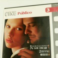Cine: LA JOVEN DE LA PERLA, CON COLÍN FIRTH, SCARLETT JOHANSSON Y TOM WILKINSON.. Lote 106622362