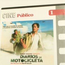 Cine: DIARIOS DE MOTOCICLETA, CON GAEL GARCÍA BERNAL Y RODRIGO DE LA SERNA.. Lote 106622430