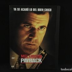 Cine: PAYBACK - DVD MEL GIBSON. Lote 106766519