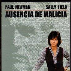 Cine: AUSENCIA DE MALICIA (PAUL NEWMAN) - ¿TIENE UN INOCENTE QUE PROBAR SU INOCENCIA ... O SE LE SUPONE?. Lote 106901691