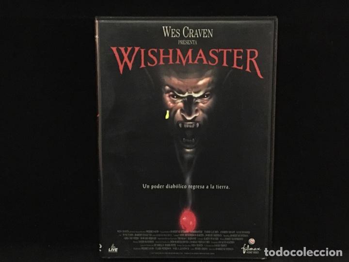 WISHMASTER - DVD WES CRAVEN (Cine - Películas - DVD)
