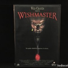 Cine: WISHMASTER - DVD WES CRAVEN. Lote 106947823