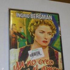 Cine: YA NO CREO EN EL AMOR UN FILM DE ROBERTO ROSSELLINI - DVD -. Lote 106949887