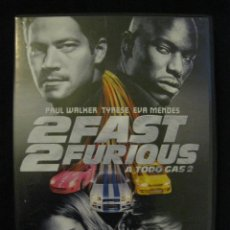 Cine: 2 FAST 2 FURIOUS - A TODO GAS 2 - DVD.. Lote 193857317