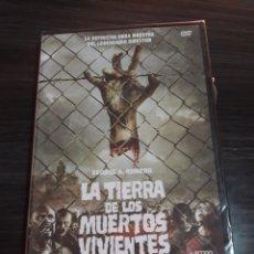 Cine: LA TIERRA DE LOS MUERTOS VIVIENTES ( DVD NUEVO PRECINTADO ). Lote 106968498