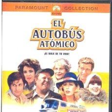 Cine: EL AUTOBUS ATOMICO DVD : TODO PUEDE PASAR ... Y PASA EN ESTE VIAJE ALOCADO Y TRONCHANTE.... Lote 106998639