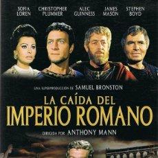 Cine: DVD LA CAÍDA DEL IMPERIO ROMANO SOFIA LOREN . Lote 107014743