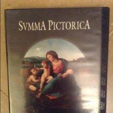 Cine: SUMMA PICTORICA. EL MANIERISMO Y LA EXPANSION DEL RENACIMIENTO (DVD) PLANETA. Lote 107043911